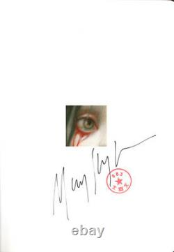 MARK RYDEN SIGNED BLOOD EXHIBITION LE HARDCOVER BOOK 2nd EDITION BECKETT BAS LOA