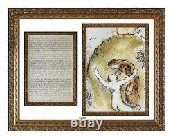 Marc Chagall Original Lithograph L'Ame D'Elpenor Odyssey Homer Poem Large Art