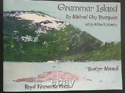 Michael Clay Thompson Language Arts Island Level 1 set Very good condition