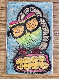 Michael Eyedea Larsen Oliver Hart Am I Wonderful Book Of Poetry Poems Rare Art