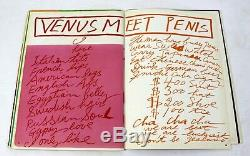 Mid Century Modern Poetry & Art Book Signed Hot & Sour Soup 1969 Walasse Ting