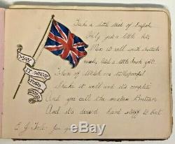 Mostly WW1 WWI Era Sketchbook Poems Painted Art Drawings Some Military