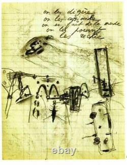 NEW 50 Drawings to Murder Magic by Antonin Artaud RARE Surrealism Manuscript