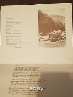 Original Poetry And Artwork With Wayne White 1975
