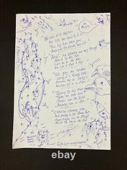 Original Published Poem Art by Charles Bronson Charles Salvador Criminally Mad