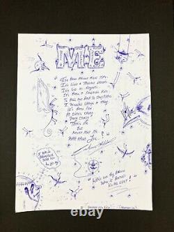 Original Published Poem + Art by Charles Bronson Charles Salvador Me