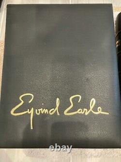 RARE Signed Eyvind Earle AP11/60 Complete Graphics-Poems 1st Edition