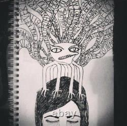 REAL secret Diary Poem Books joblot mental health private eating disorders ART