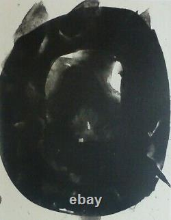 ROBERT MOTHERWELL Nocturn V LITHOGRAPH Three Poems by Octavo Paz Lim. Ed. 750
