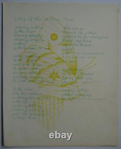 Rakoczi Basil 7 Poems In English 1968 Illustrated By Alexandre Sarres White Stag