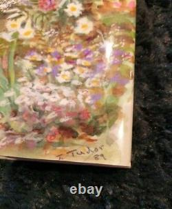 Rare Like New Hc Dj Emily Dickinson A Brighter Garden Art Signed By Tasha Tudor