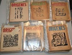 Revistas Origenes Lot 30 Originals Magazines Lezama Lima Cuba Art 1944-1956