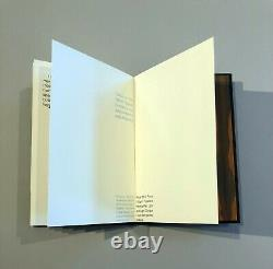 Richard Tuttle, Differentiation and Service, 2007 Signed handpainted book