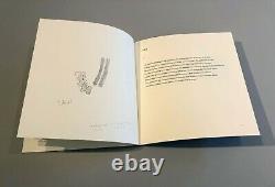 Richard Tuttle & Mei-Mei Berssenbrugge, Sphericity, 1993 Signed Artist book wi