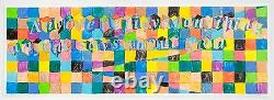 Richard Tuttle Untitled (Poetry Project), Signed, Numbered, Fine Art Print