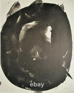 Robert Motherwell Tres Poems # 1 Original Lithograph 1987 Free Ship Us