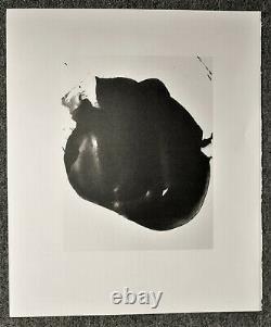 Robert Motherwell Tres Poems # 8 Original Lithograph 1987 Free Ship Us