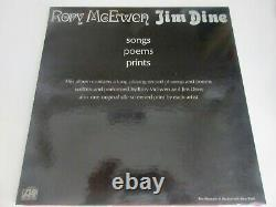 Rory McEwen & Jim Dine Songs Poems Prints LP WITH PRINTS Signed