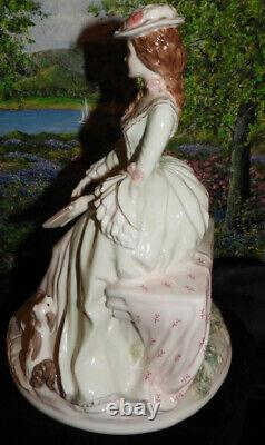 Royal Worcester Figurine POETRY THE GRACEFUL ARTS