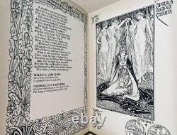 Scarce 1898 Walter Crane BookShepheard's CalenderPre-RaphaeliteArt Nouveau