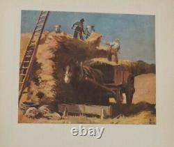 Scarce John Masefield Edward Seago Illustrated Book, The Country Scene. 1937