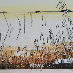 Seiji SanoPoetry of the four seasons3SET Japanese woodblock prints Art