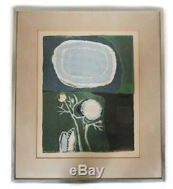 Sister Mary Corita (Kent) Serigraph Silk-screen Abstract Ltd Ed Signed 1959 POEM