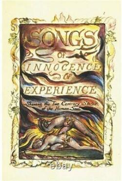 Songs of Innocence and of Experience by William Blake Hardback Book The Fast