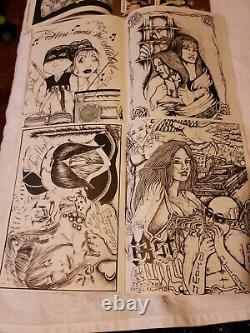 Teen Angels Magazine. Latino Chicano Culture Prison Art. #192, 195, 197, 198