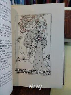 The Golden Poets' Set Caxton 12 Vols Spencer Yeats Byron art nouveau 1900 C