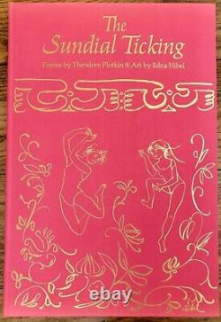 The Sundial Ticking by Theodore Plotkin, art by Edna Hibel, signed 1st ed
