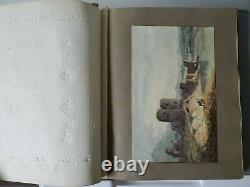 Victorian Age Album, Original Art, Poetry, New Year's & Christmas Cards, 1800's