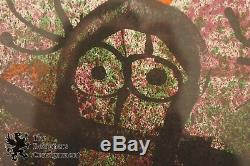 Vintage Joan Miro Poems a la Main Lithograph Print Color COA Signed in Stone