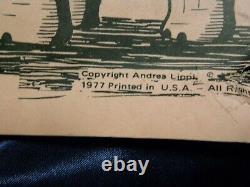 Vintage Lucy The Elephant Jamesway Department Store Poster Lippi Poem Sheetz Art