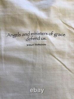 Vintage william shakespeare shirt large Protectors Angel Defend Us Poetry Art