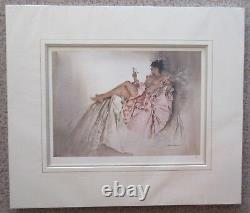 William Russell Flint, Book of Poems Mounted Limited Edition Print