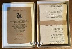 Xray Fotoproject Bukowski Montfort Poop Poem Photographs Broadside Box #64 RARE