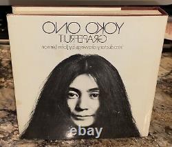 YOKO ONO Grapefruit 1970 HC BOOK Drawings John Lennon UK 1st PRESSING Poems ART