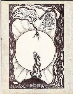 Zendik Farm Tribe Special Art Poetry Lyrics Edition Magazine Issue #42 1990